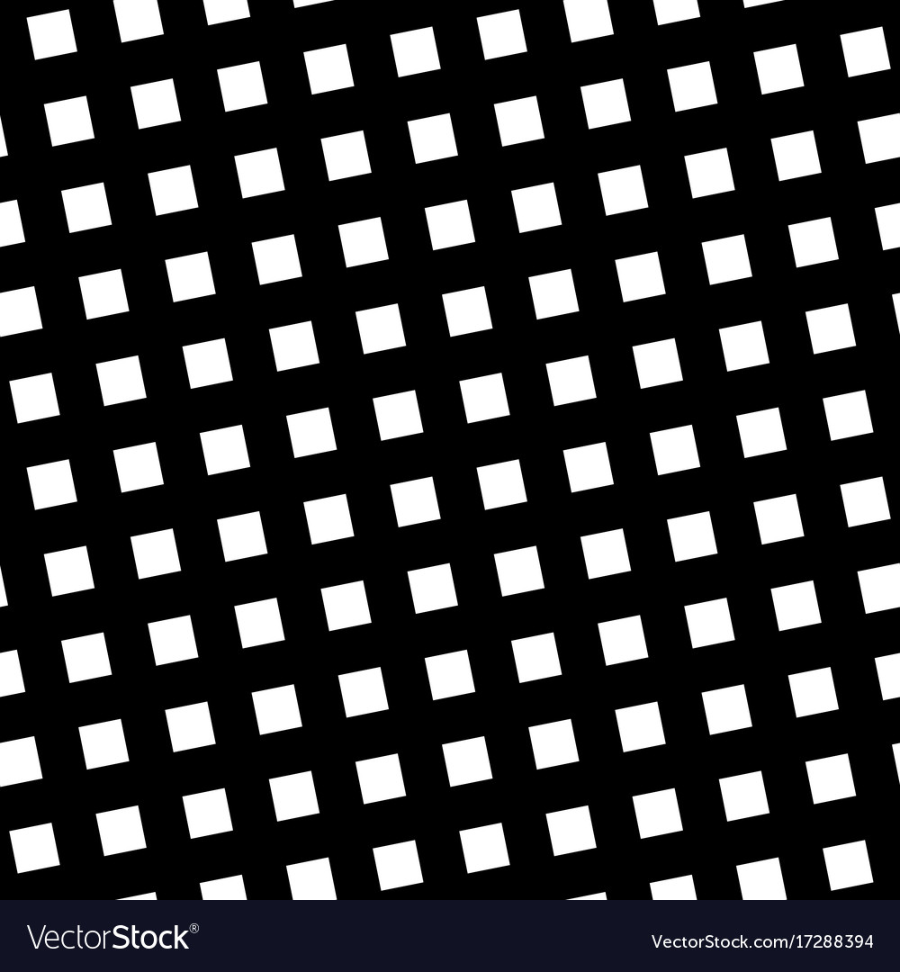 Seamless pattern slanting grid in black and white