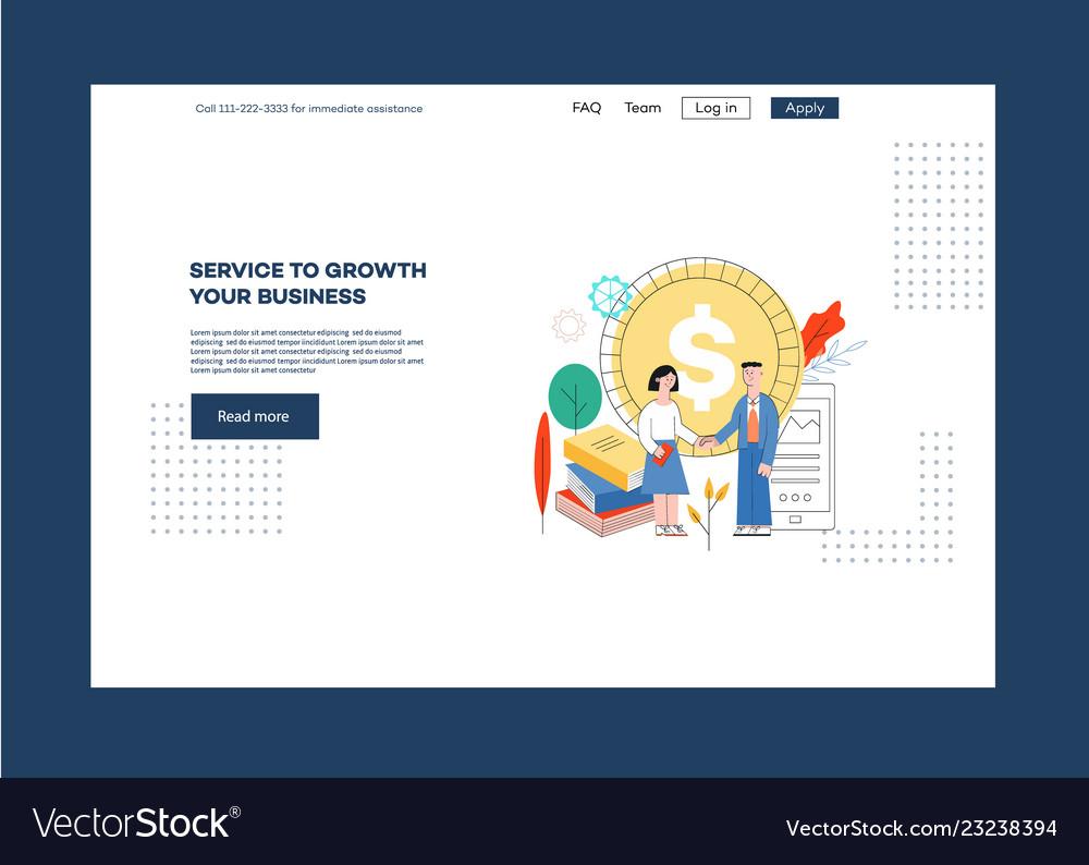 Website page design