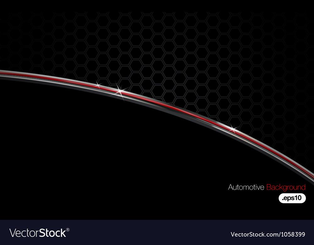 Black n Chrome Automotive Background