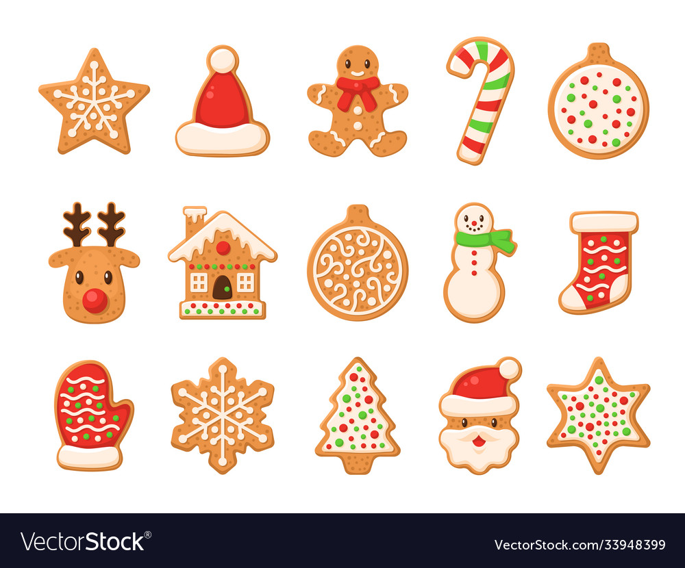 Gingerbread christmas gingerbreads santa and cane