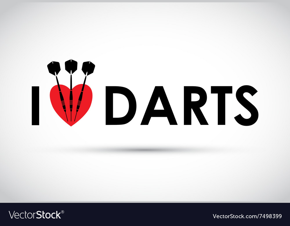 I love the darts