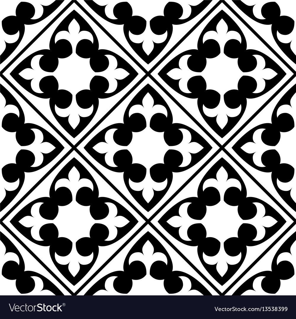 Spanish And Portuguese Tile Pattern