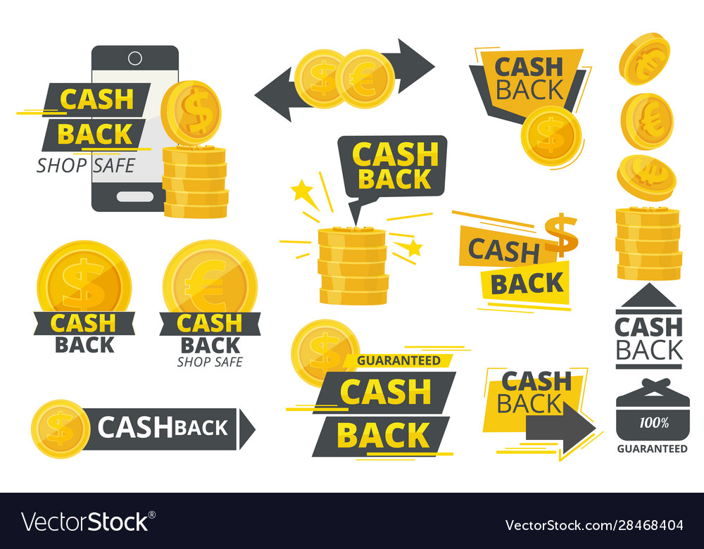 Money cash back promotional special offer service