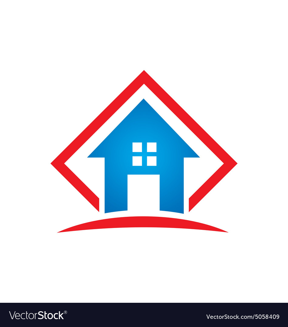 Home architecture icon building logo Royalty Free Vector
