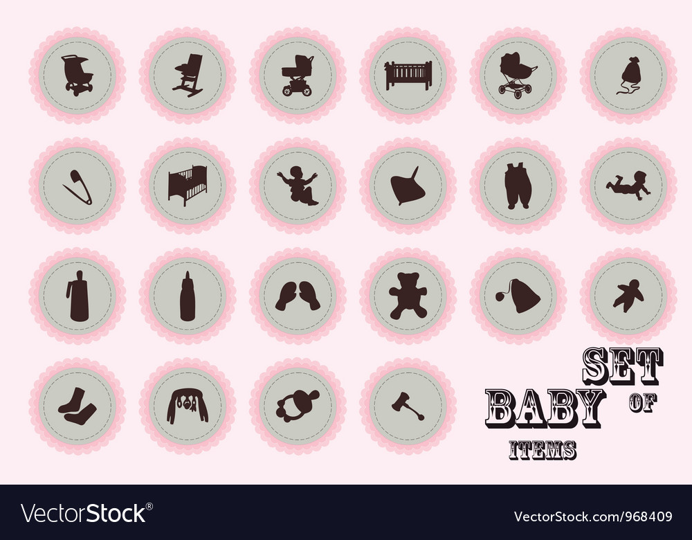 Pure series Hand draw baby icon