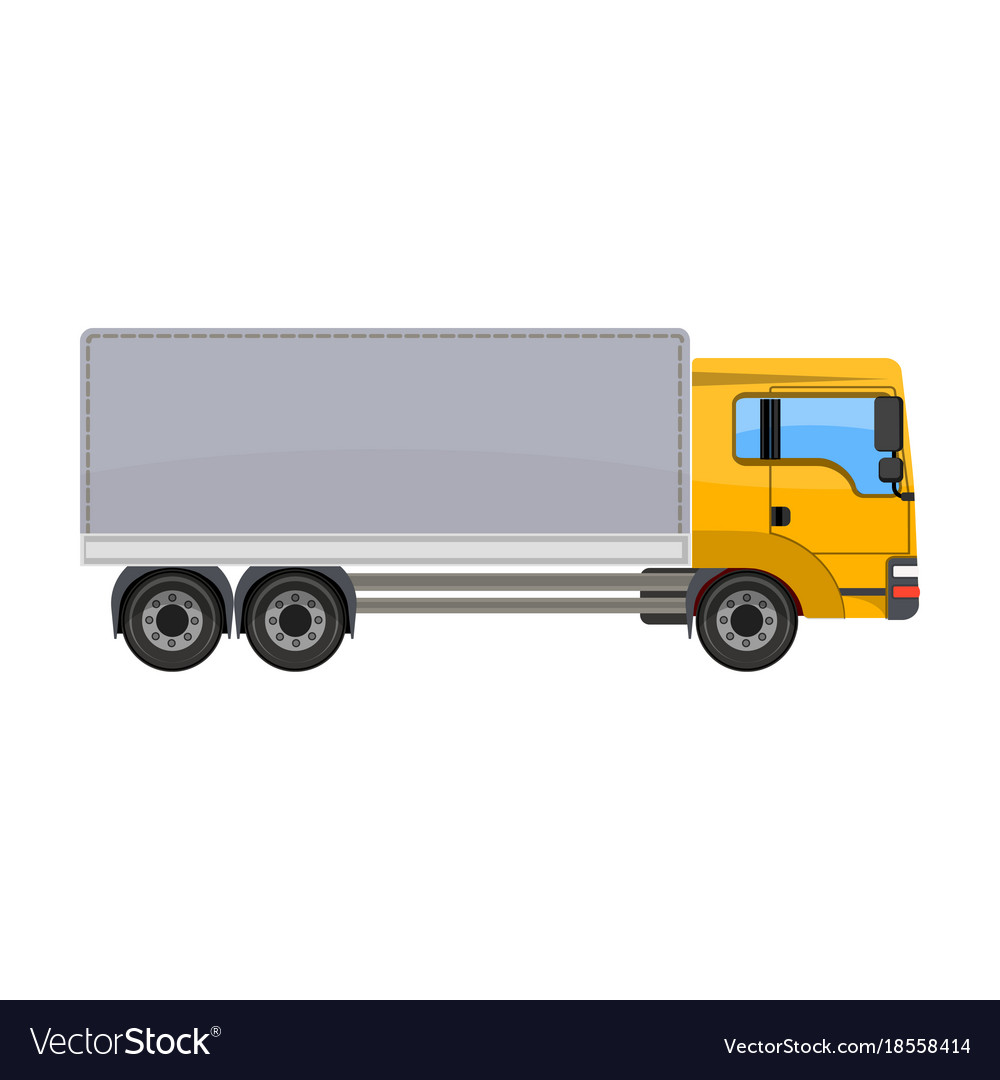 Freight car single icon in cartoon style