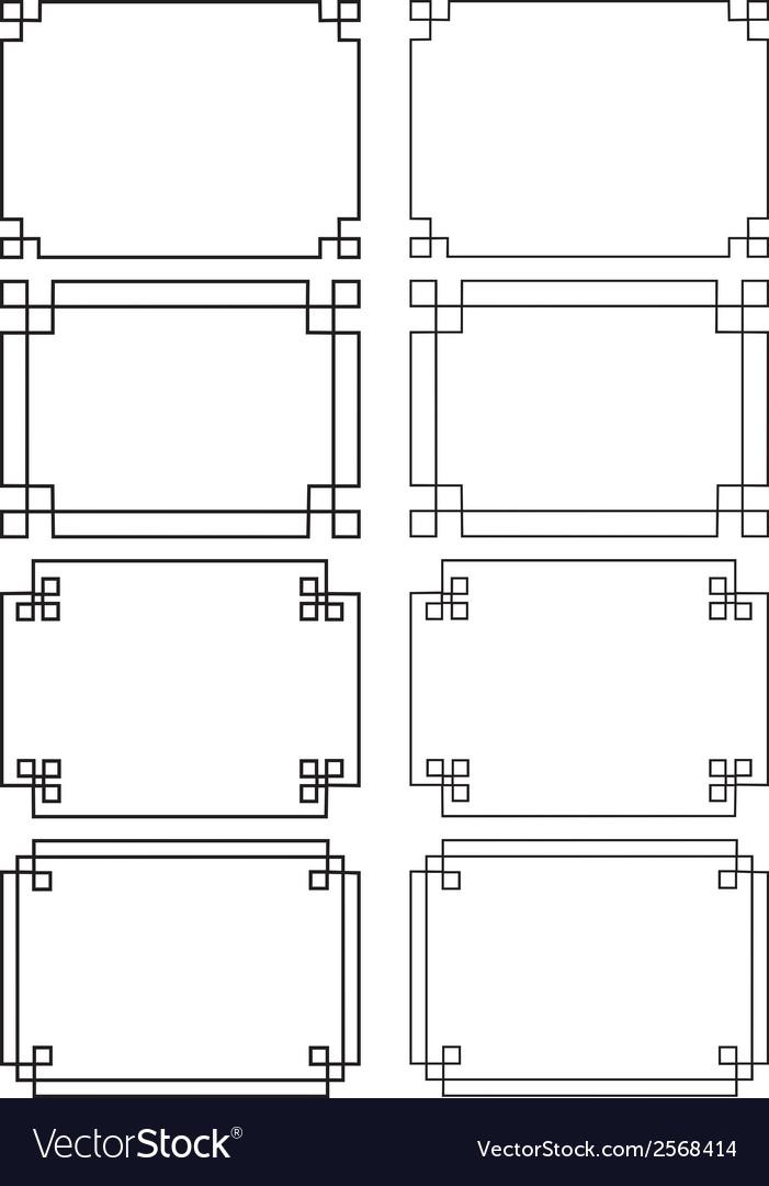Fretwork frames