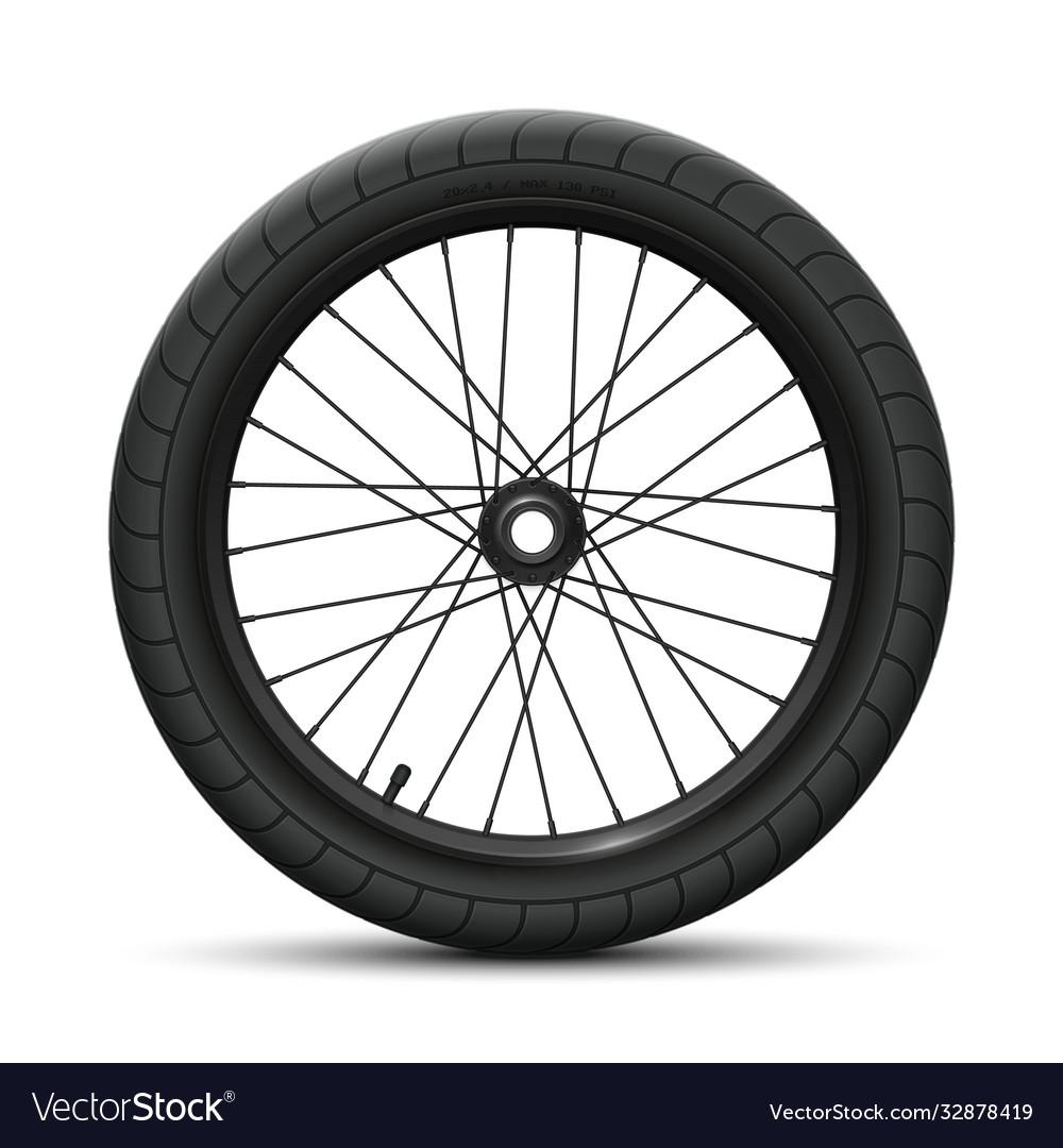 Rear wheel bicycle bmx