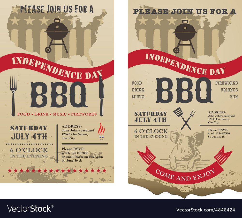 Barbecue independence day
