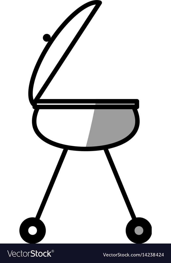 Grill bbq food picnic shadow