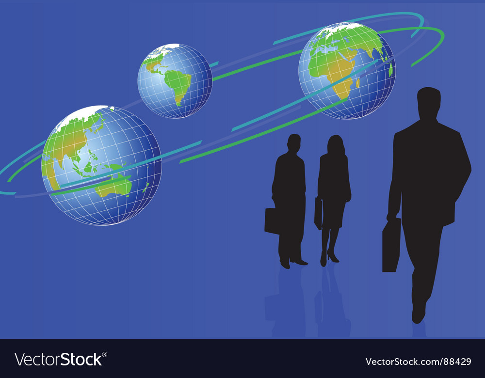Circle figures vector image
