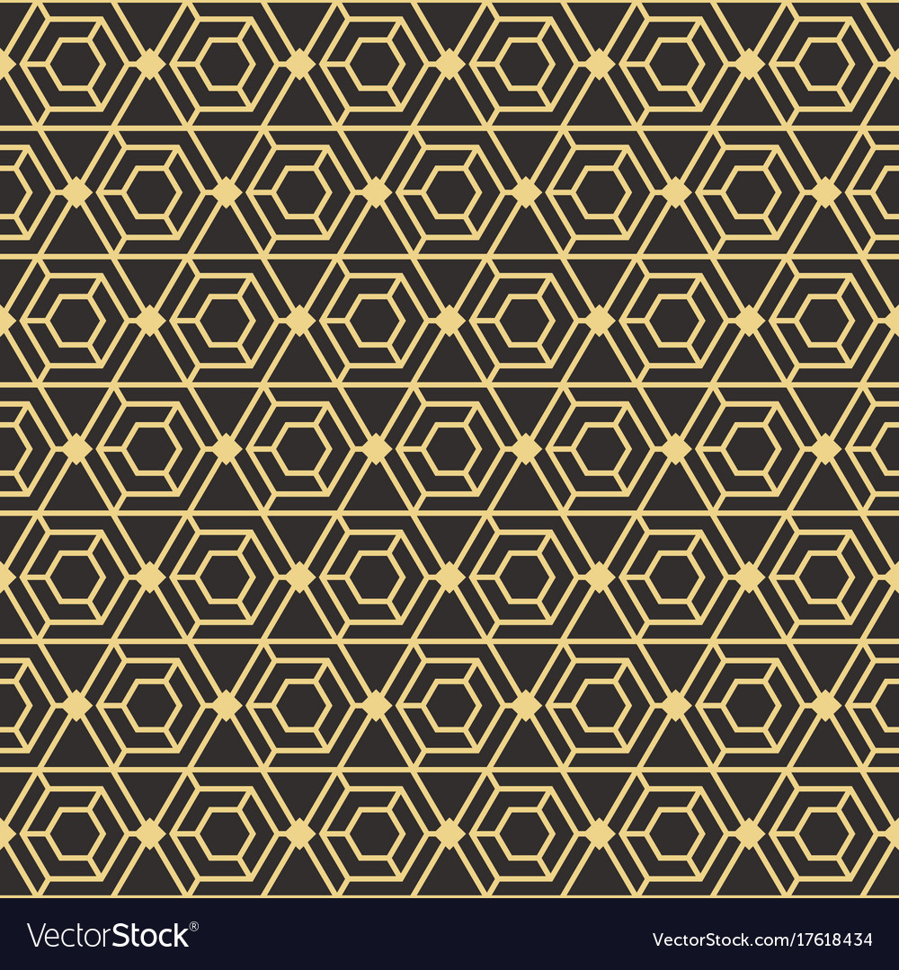 abstract art deco seamless pattern royalty free vector image rh vectorstock com art deco geometric pattern vector free art nouveau patterns vector free
