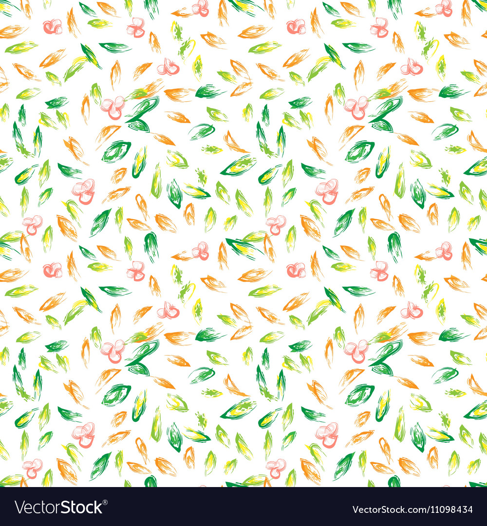 Autumn hand drawn background
