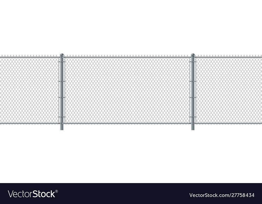 Chain link fence seamless metal wire fence wire