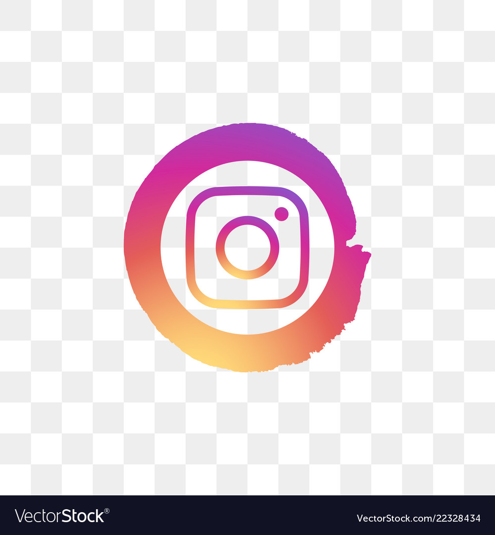 Instagram social media icon design template