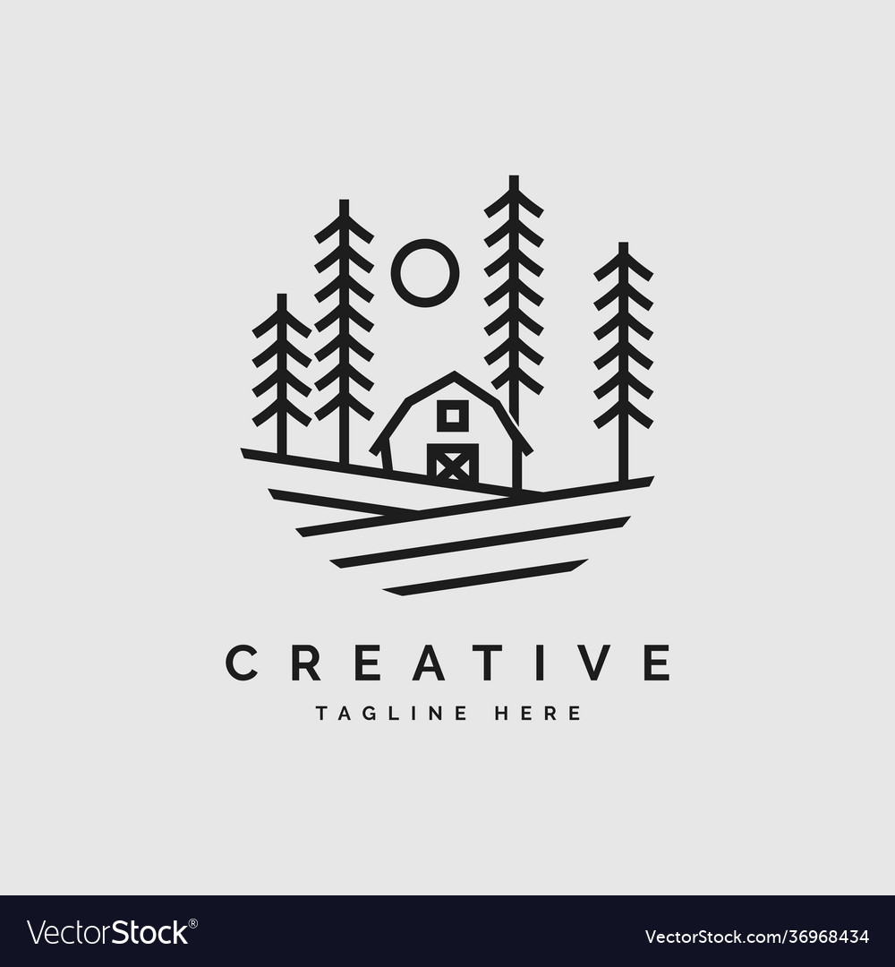 Landscape logo design