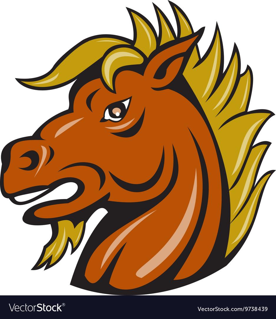 Днем рождения, смешной рисунок головы лошади