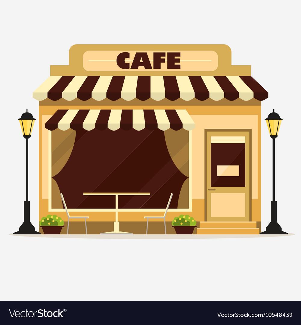 Cafe Street shop facade