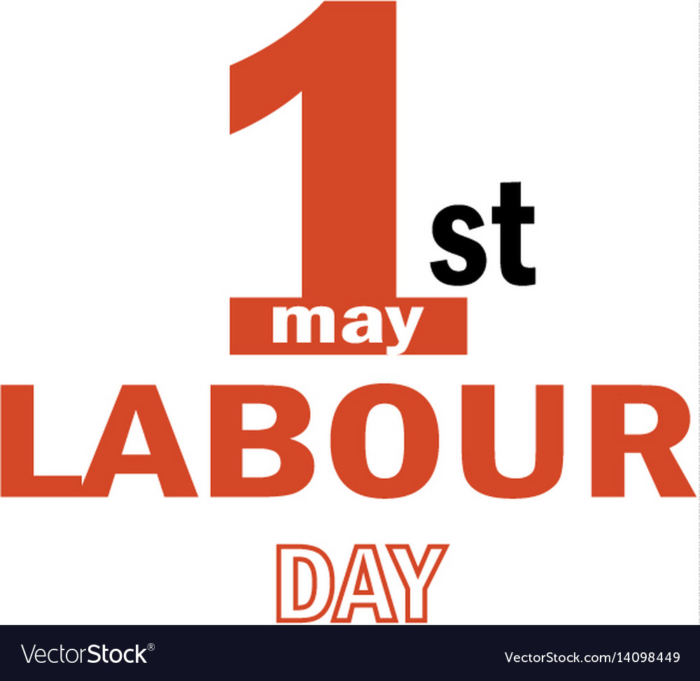 Labour day logo concept with wrenches