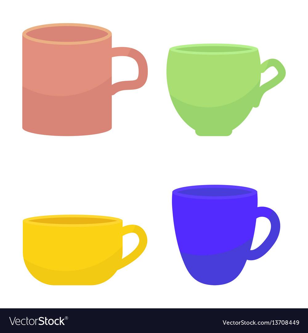 Tee and coffee mug