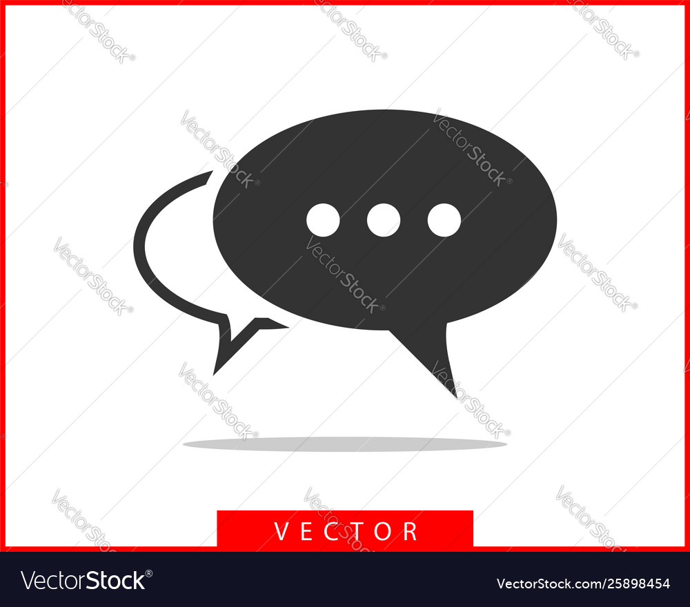 Talk bubble speech icon blank empty bubbles