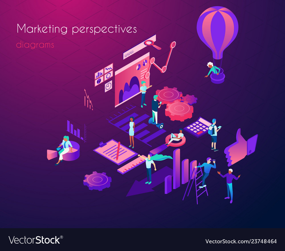 Analysis of marketing perspectives infographic