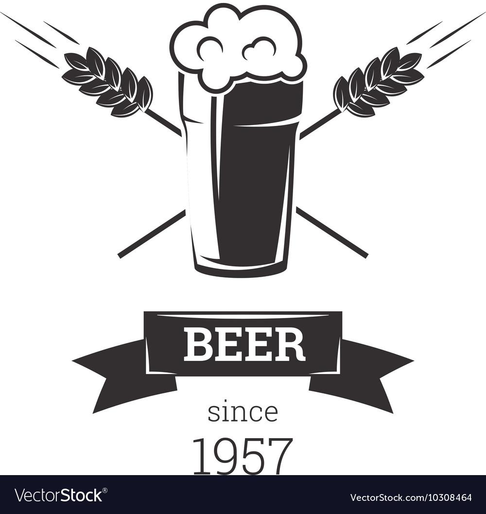 Beer insignia badge