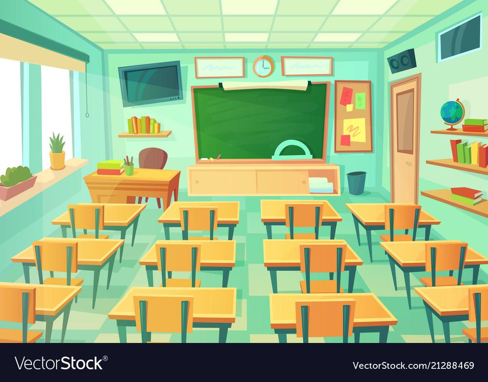 Cartoon Room: Cartoon Classroom