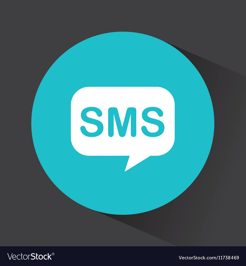 Sms speech bubble