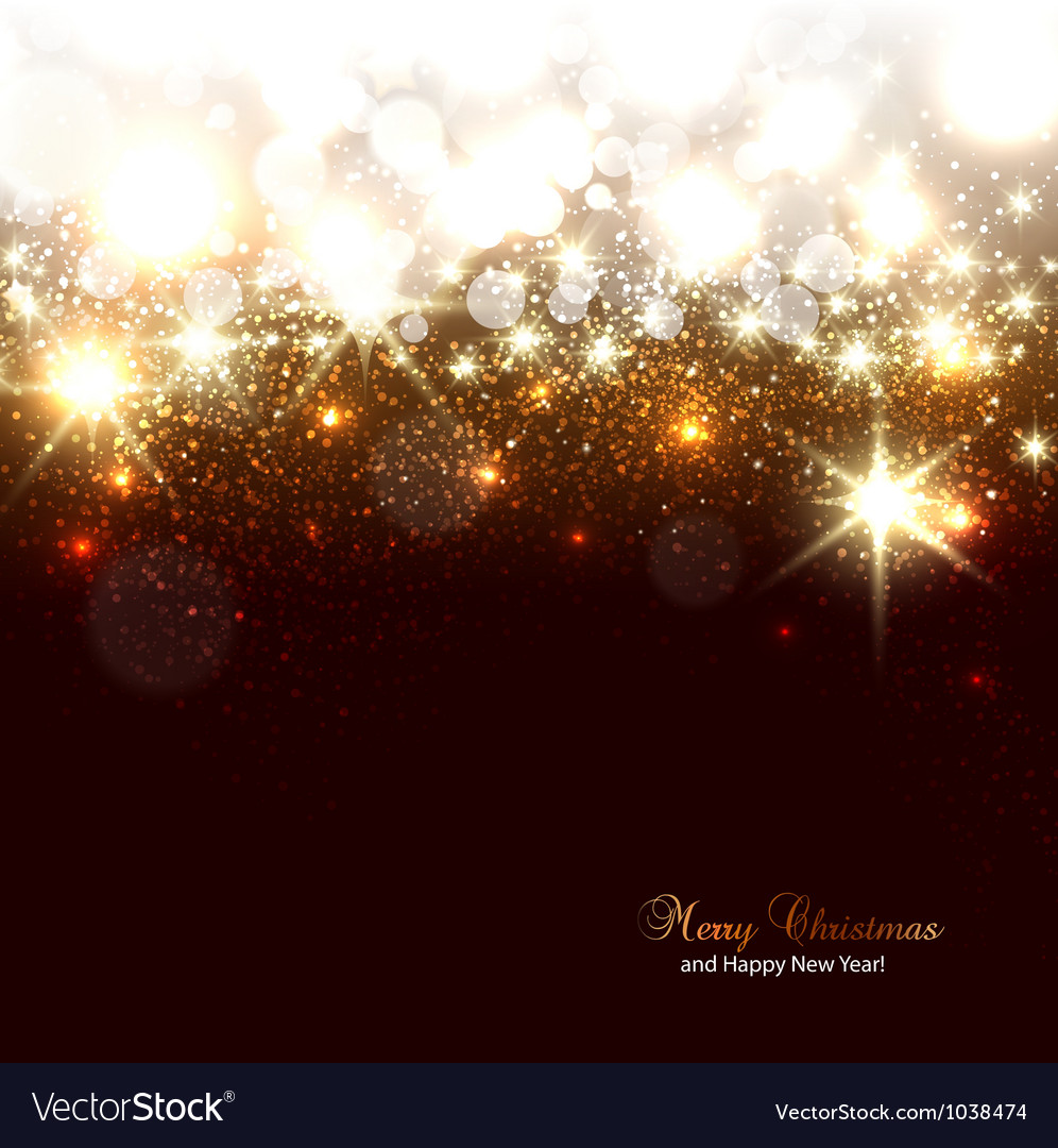 Elegant Christmas background with snowflakes and