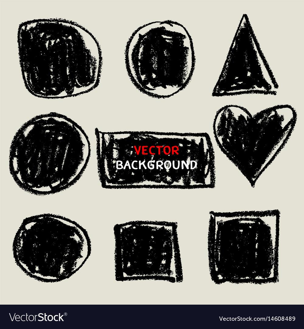 Chalk texture background doodle sketch