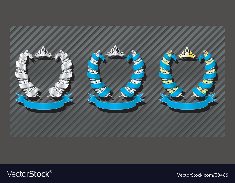 Emblems series wreath