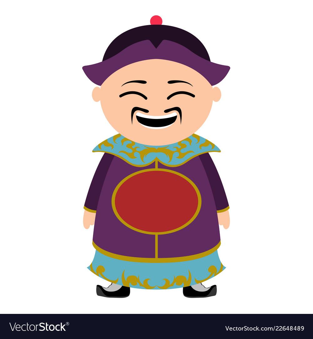Cartoon character asian