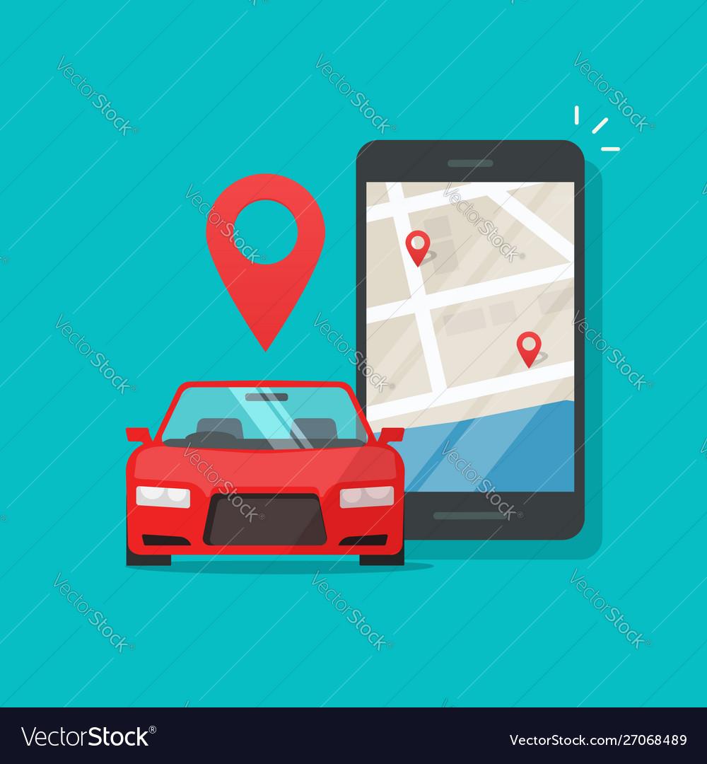 Urban transport as automobile vehicle sharing app
