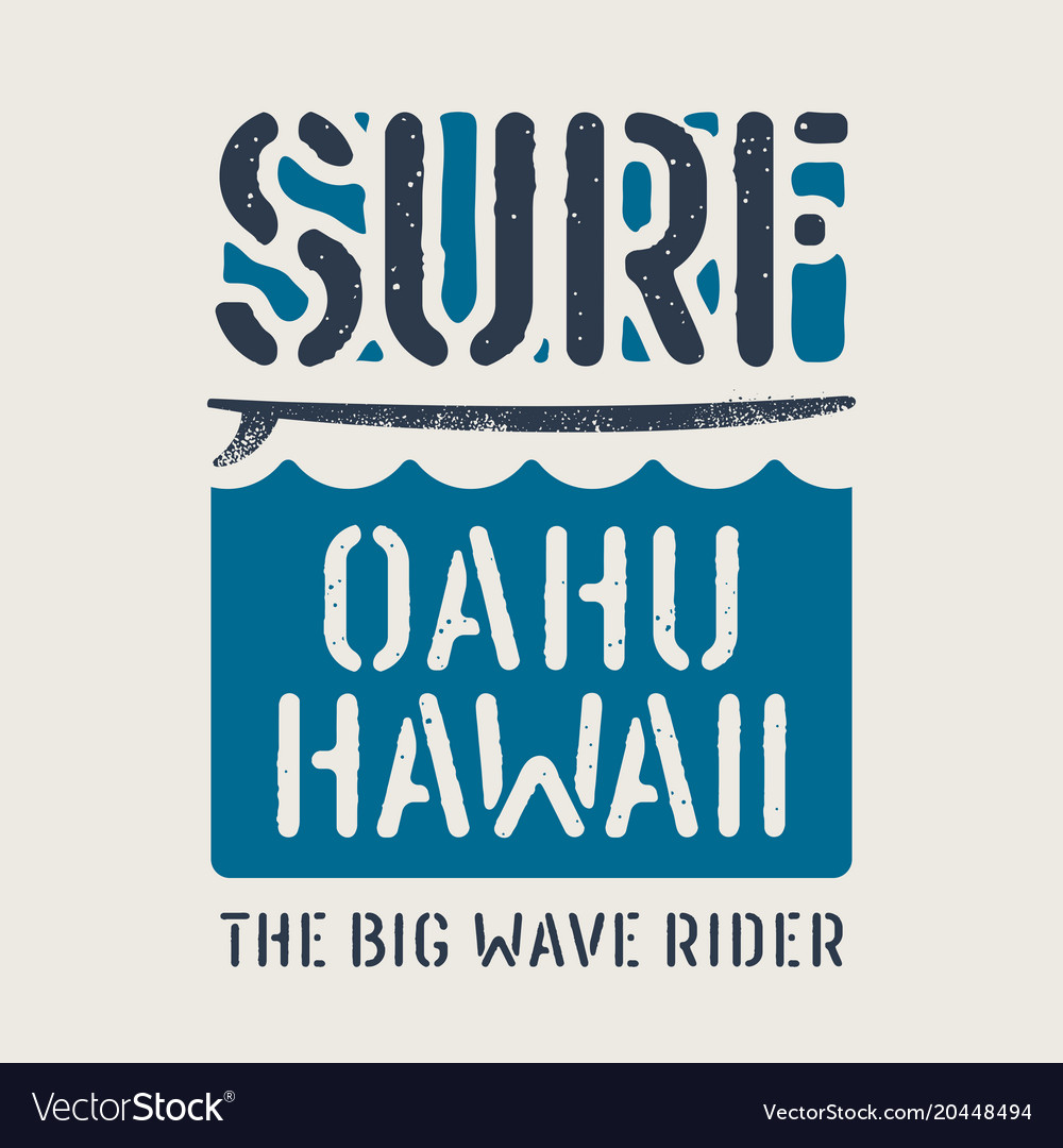 Surfing print 021