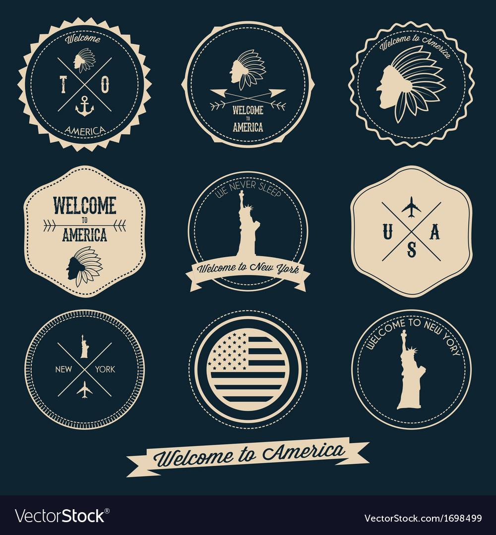 America Label Design