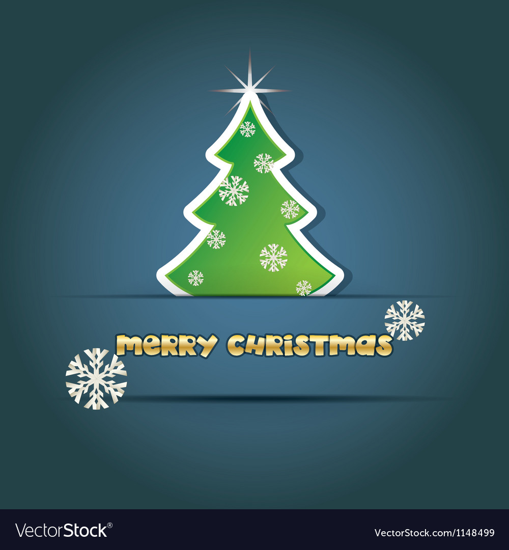 Christmas cards vector image