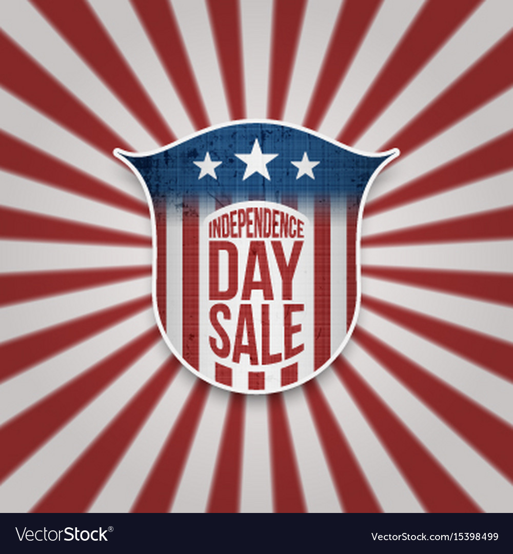 Independence day sale background