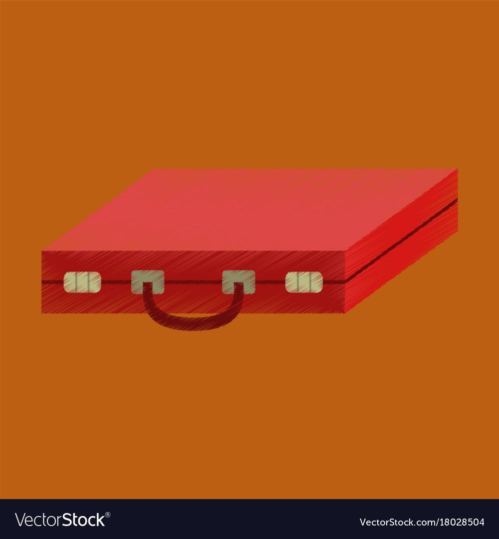 Flat shading style icon business case
