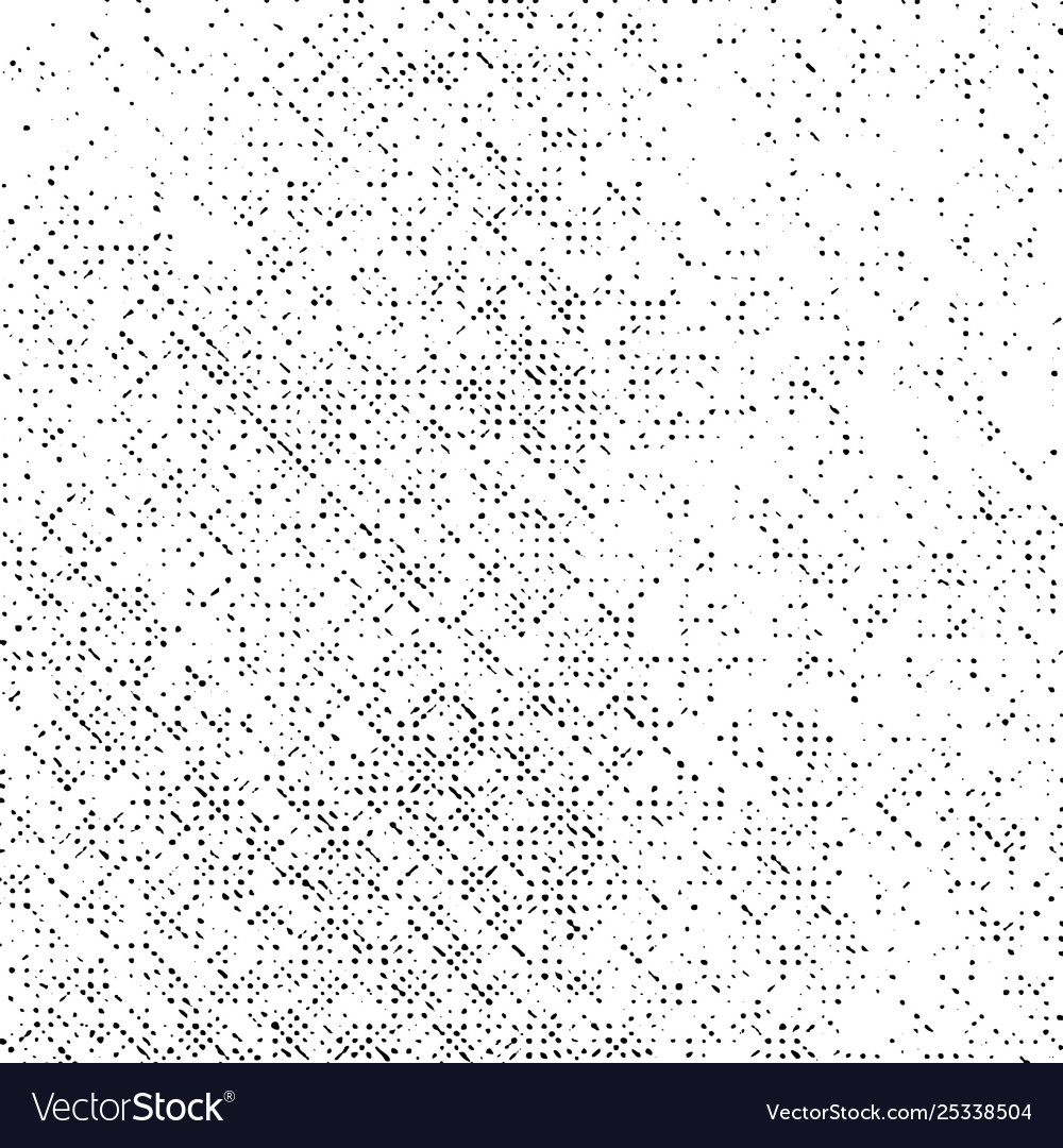 Grunge pattern dotted overlay texture background vector image