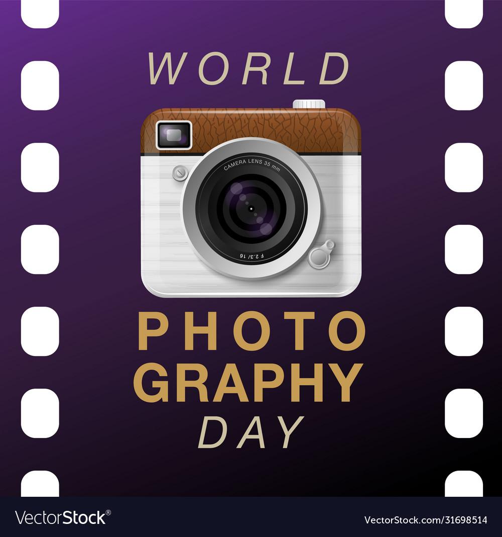 World photography day eventa vintage camera