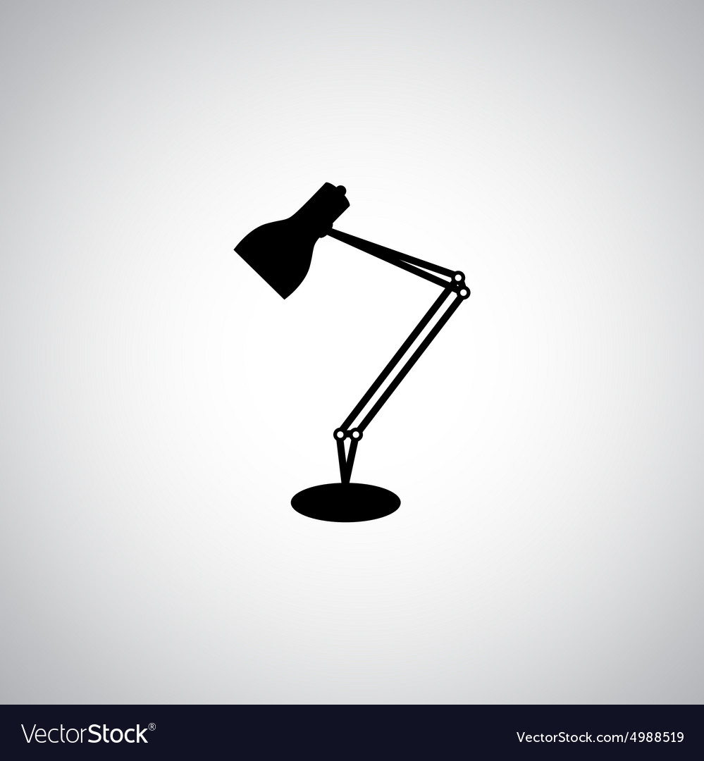 Lampshade vector image