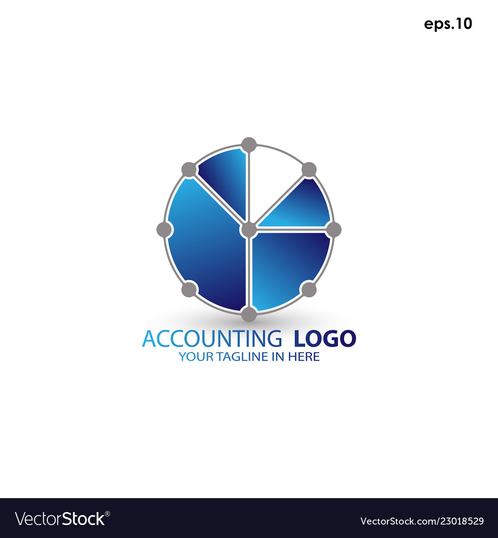 Abstract logo accounting
