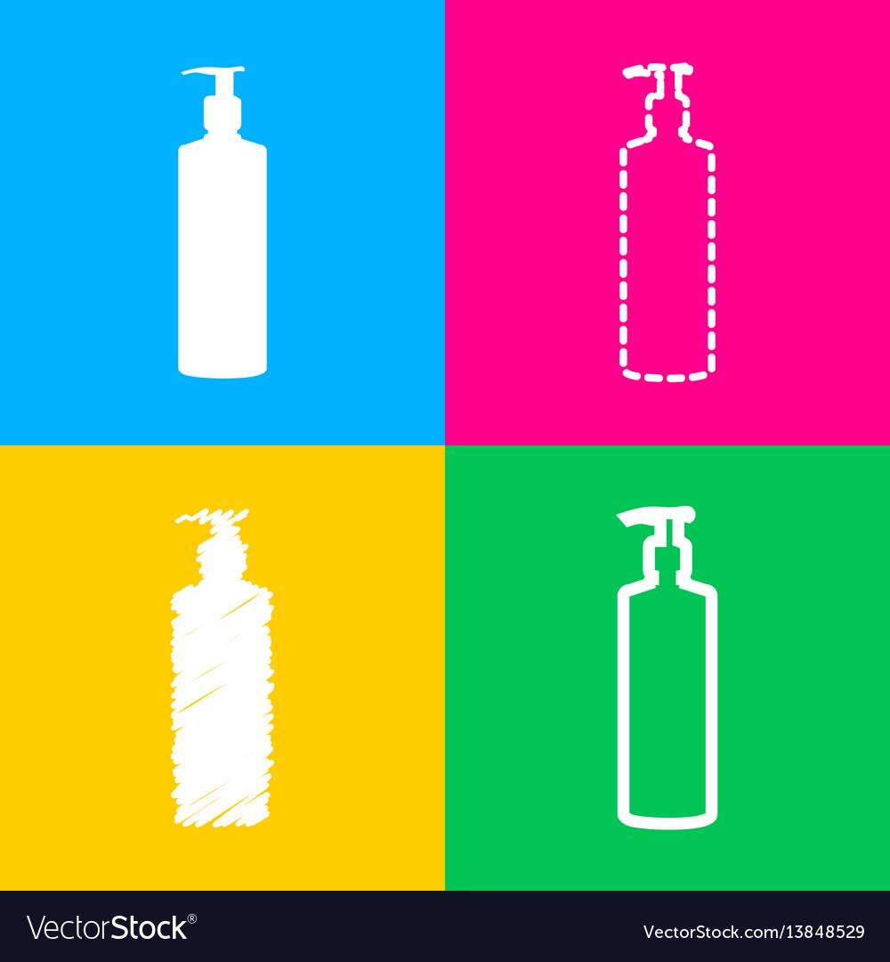 Gel foam or liquid soap dispenser pump plastic