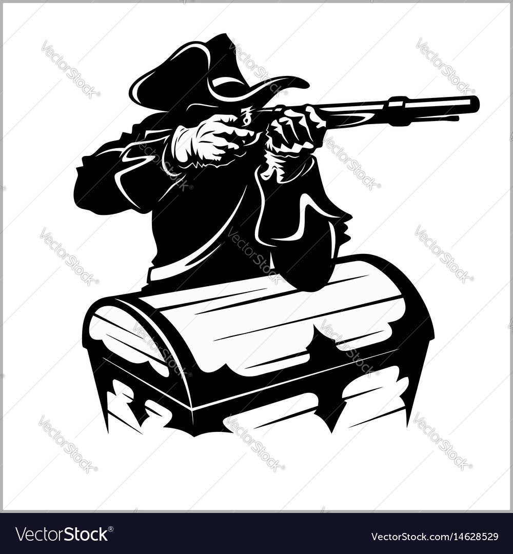 Pirate with a gun