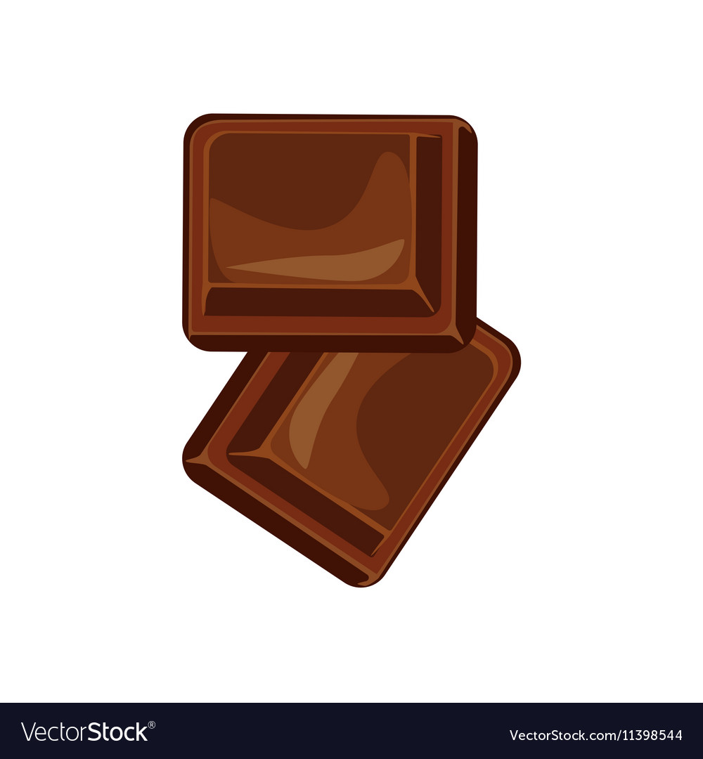 Chocolate bars and pieces set