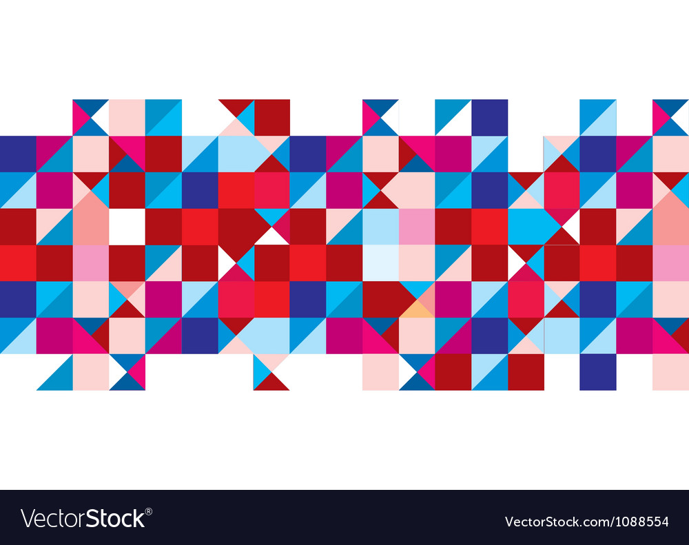 Tricolour pattern background vector image