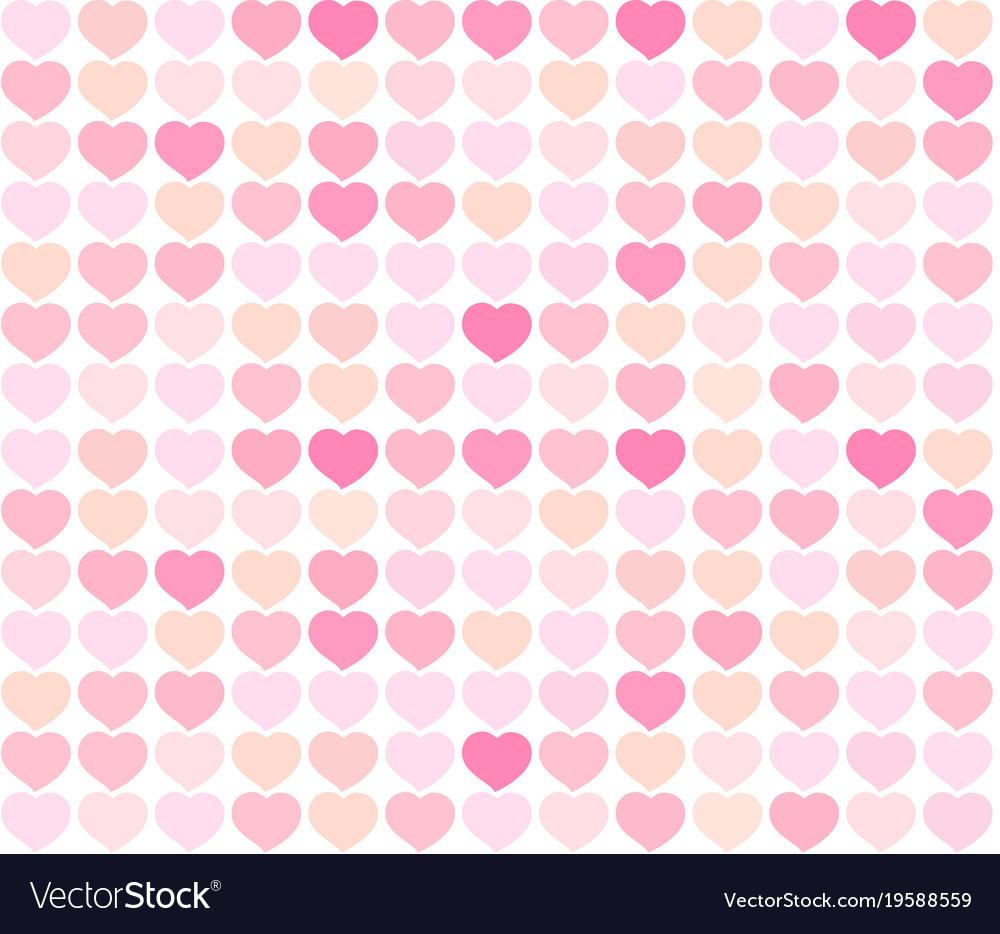 Background red and pink hearts