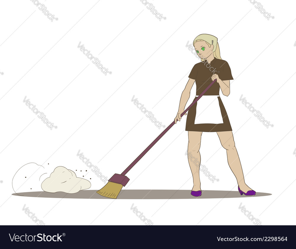 Cleaner girl