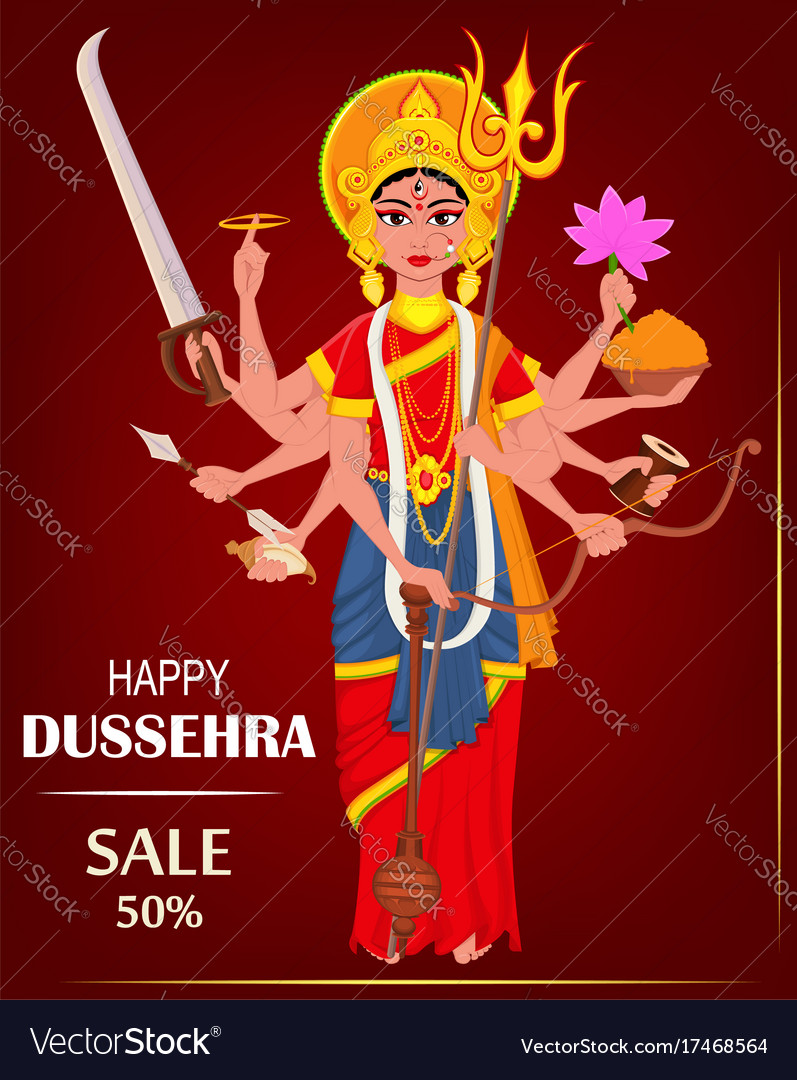Happy dussehra for sale shopping maa durga on